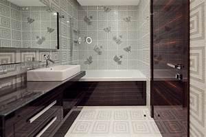 Papier Peint Salle De Bain : papier peint salle de bain pourquoi pas ~ Dailycaller-alerts.com Idées de Décoration