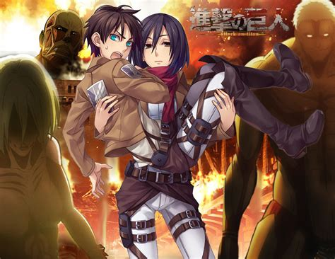 fantastic attack  titan wallpapers daily anime art
