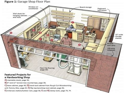 garage workshop plansjpg  garage storage ideas