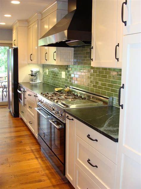love white kitchen cherry island soapstone counters