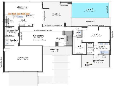 home blueprints modern tile floor modern house floor plans luxury