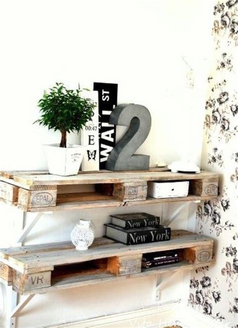 ranger une chambre étagère en palette 19 idées originales à copier