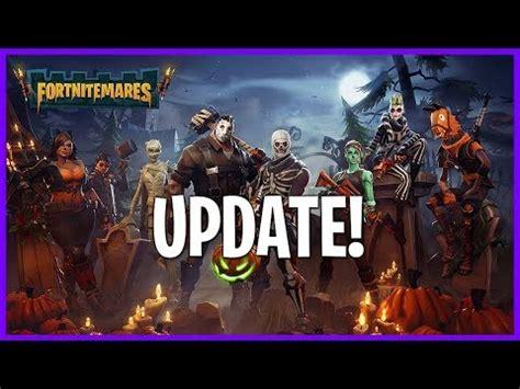 fortnitemares halloween update  zone  heroes