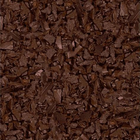 rubber bark brown rubber mulch for landscaping