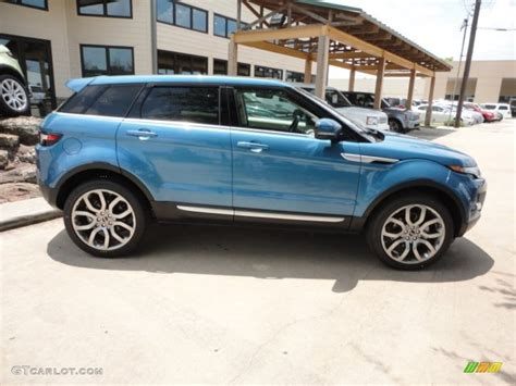 blue land rover mauritius blue metallic 2012 land rover range rover evoque