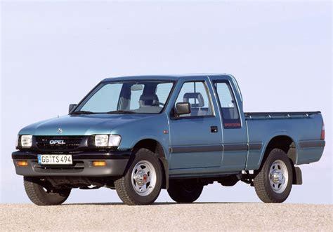 Isuzu Opel by Opel Co Bauzeit 1991 2001 Up Trucks