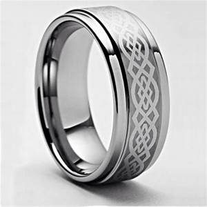 Timeless bond of love immortalized by irish wedding bands for Tungsten celtic wedding ring
