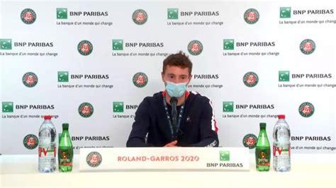 Ugo humbert @ paris 28 may 2021 roland garros tennis french open / mai 2021. Roland-Garros - Ugo Humbert : « Le positif, c'est que je ...