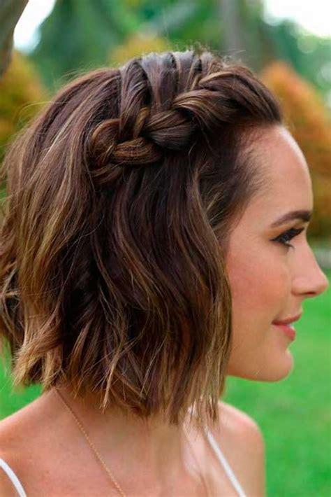 braided short hairstyles ideas short hairstyles haircuts