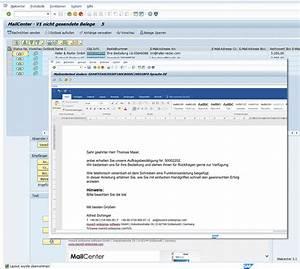 Anschreiben Rechnung Per E Mail : sap mail e mail software pdf versenden mailversand ~ Themetempest.com Abrechnung