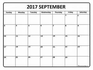 September calendar 2017 printable and free blank calendar ...