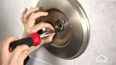 replace  install  shower valve cartridge
