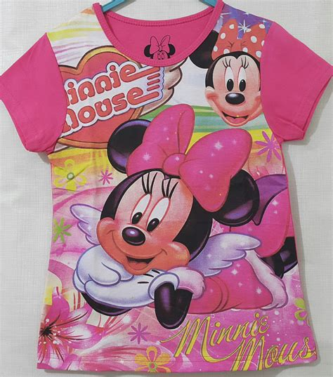 minnie mouse swing kaos minnie mouse swing pink color 1 6 grosir