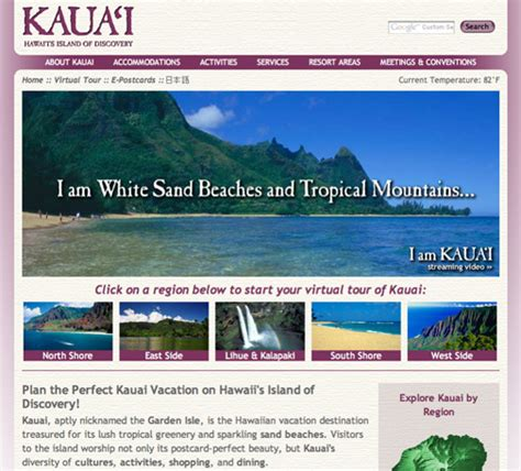 kauai visitors bureau travel and tourism advertising