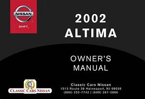 2002 Altima Owner U0026 39 S Manual