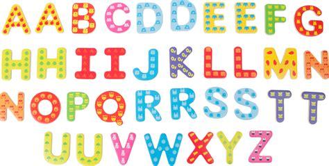 Lettere Da Stare Colorate by Lettere Colorate Con Calamita