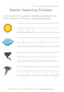 weather worksheets for from all network
