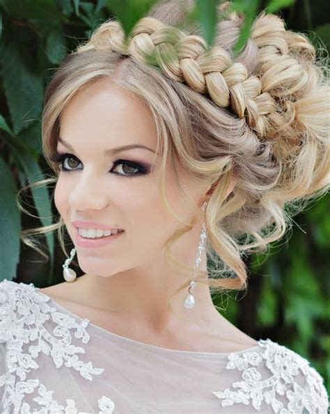 wedding hairstyle for medium hair elle hairstyles