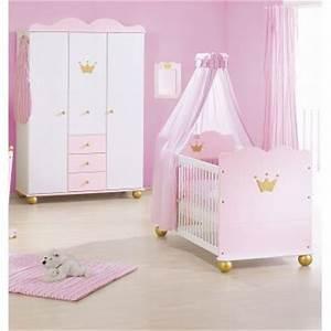 Lit Princesse Fille : deco chambre bebe fille princesse ~ Teatrodelosmanantiales.com Idées de Décoration