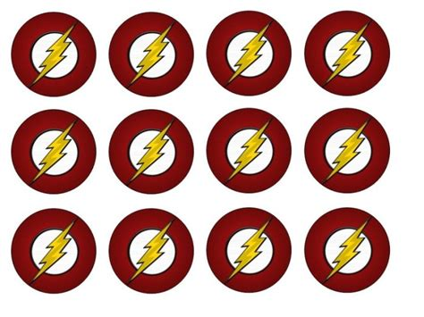 the flash edible cupcake toppers x 12 for sale in dalkey dublin from flour power