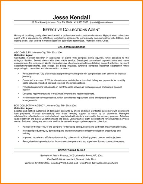Collection Specialist Resume Sle by 13 Collection Specialist Resume Inventory Count Sheet