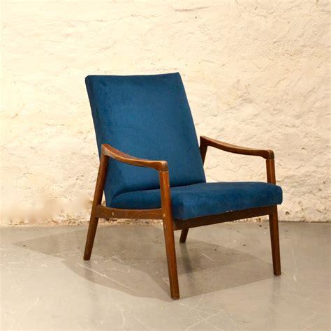 fauteuil scandinave bleu canard bindies