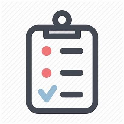 Task Daily Checklist Clipart Icon Renovation Construction