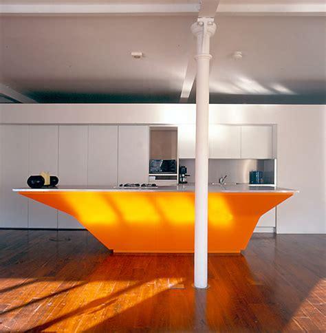 orange kitchen island orange kitchens 1219