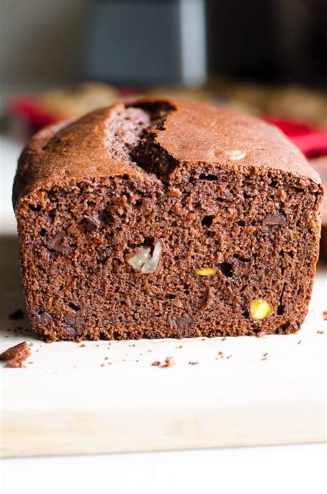 healthy chocolate bread  spelt flour ifoodreal