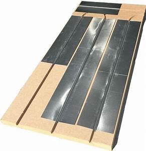 Prix Plancher Chauffant Electrique : plancher chauffant mince caleosol en fibre de bois ~ Premium-room.com Idées de Décoration