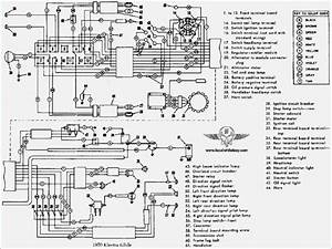 Harley Flh Wiring Harness Diagram