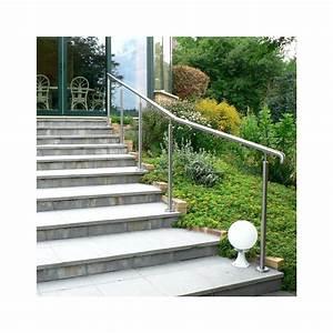 Rampe Escalier Lapeyre : main courante inox castorama ~ Carolinahurricanesstore.com Idées de Décoration