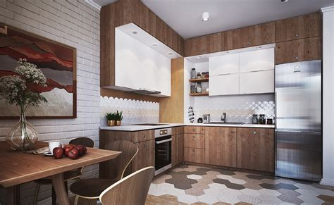 unique kitchen flooring four small studios that explore and whimsical styles 3051