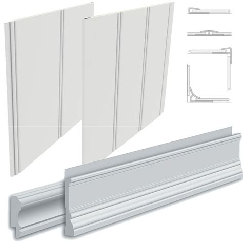 pvc beadboard plank moulding sample kit pvc