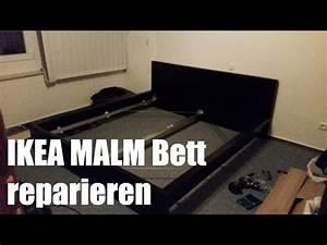Ikea Malm Bett 180x200 Anleitung : ikea malm bett reparieren und verst rken youtube ~ Watch28wear.com Haus und Dekorationen