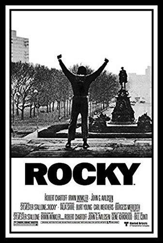 Buy Art For Less 'Rocky 1 Movie Poster Sylvester Stallone