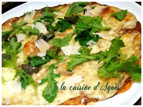 cepes cuisine pizza à la crème aux cèpes la cuisine d 39 agnèsla cuisine