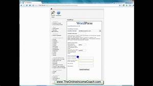 how to install wordpress on host gator cpanel part 1 With how to install wordpress template in cpanel