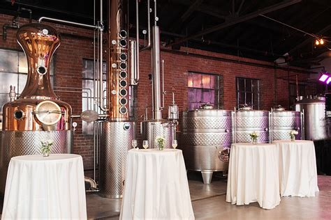 mcclintock distilling wedding real frederick maryland
