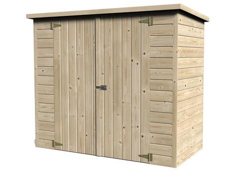 coffre de rangement en bois abri pour velo bike box