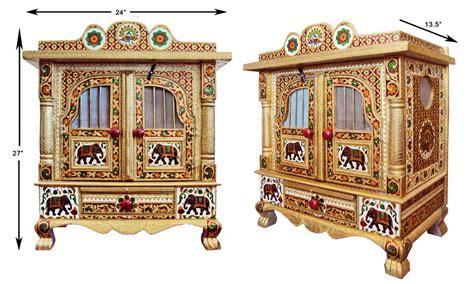 pooja cabinet online shopping pooja mandir meenakari temple online shopping