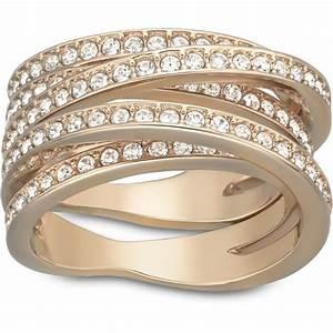 Bague Or Rose Swarovski : bague swarovski spiral rg bague or rose cristaux femme sur bijourama r f rence des bijoux ~ Melissatoandfro.com Idées de Décoration