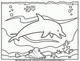 Coloring Ocean Pages Preschool Popular sketch template