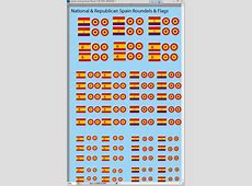 1285 Spanish Civil War Flags and Roundels Water Slide