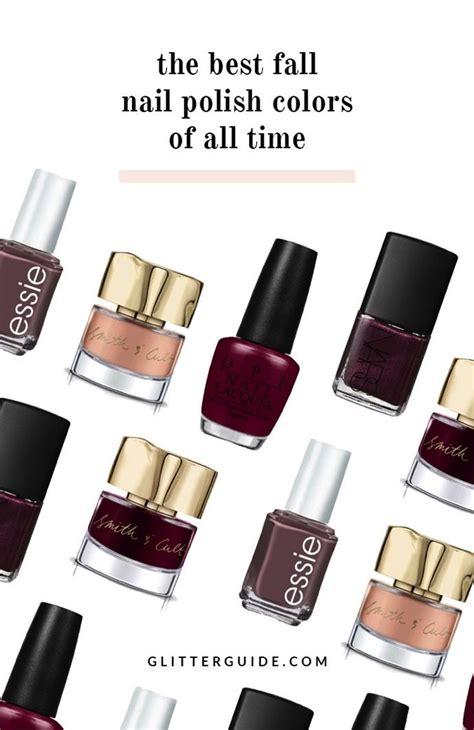 fall nail polish colors   time glitter guide