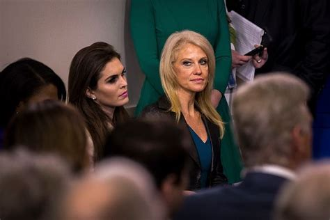 Kelly Anne Conway Hope Hicks