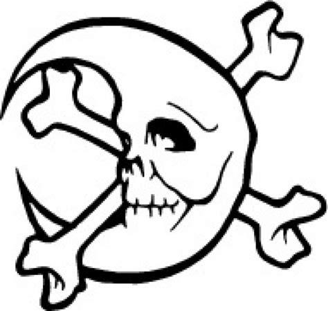 Schädel mit gekreuzten Knochen Mond Download der