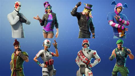 Leaked Skins And Cosmetics Found In Fortnite's V540 Files