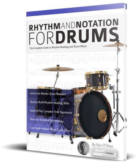 Highly recommended for all composers. Drum-Notation - Fundamental Changes Music Book Publishing
