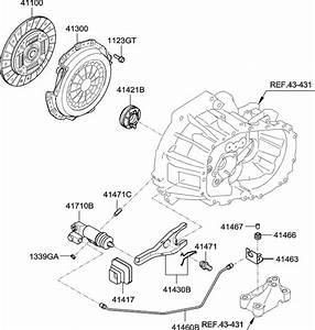 2008 Hyundai Accent Clutch  U0026 Release Fork